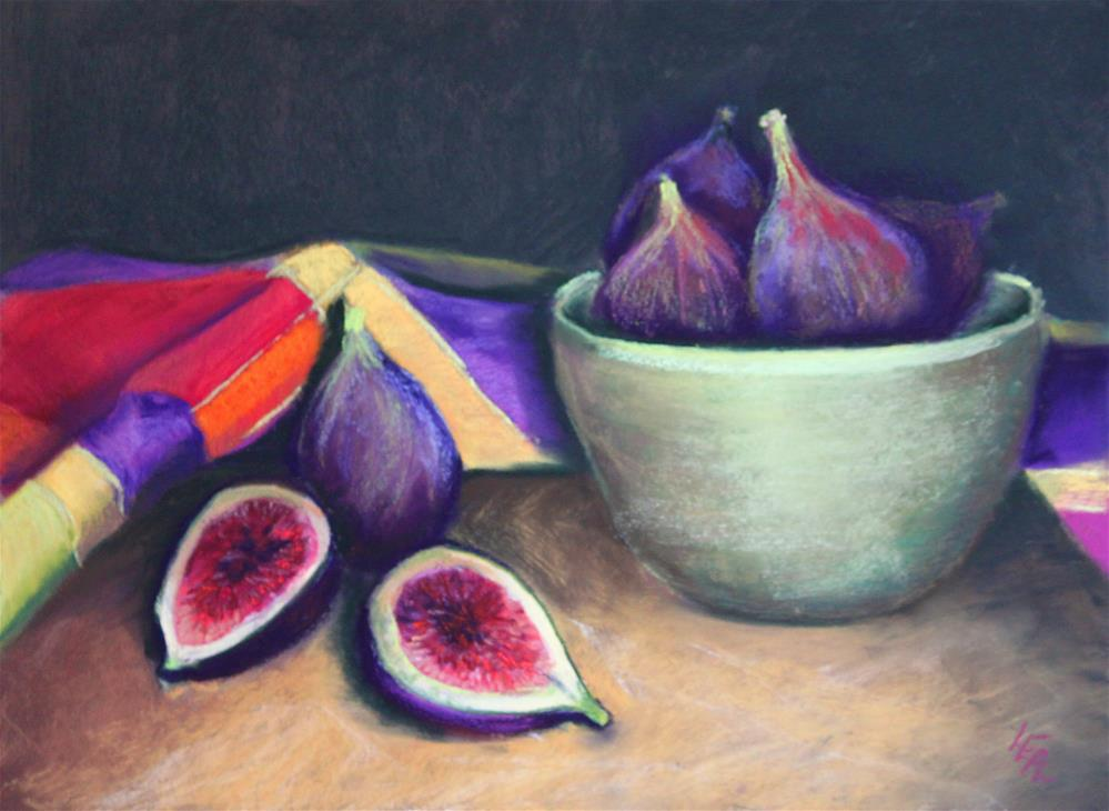 """Figs on Board"" original fine art by Anna Lisa Leal"