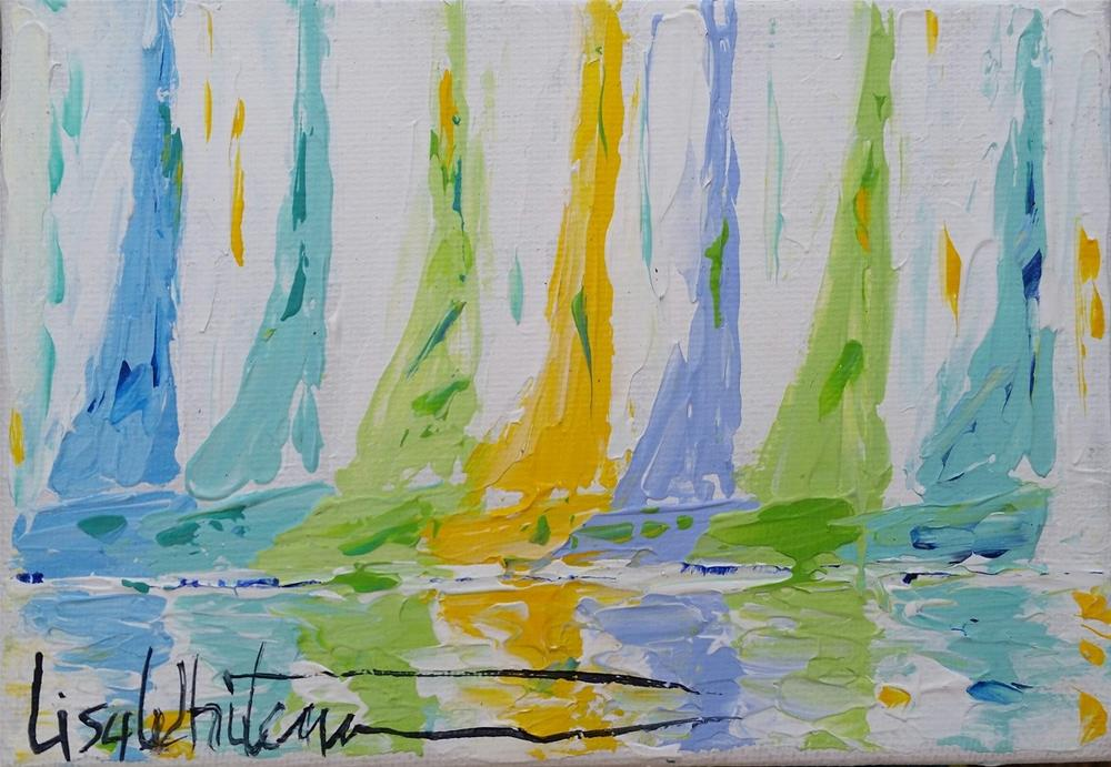 """28 - Invisible"" original fine art by Lisa Whitener"