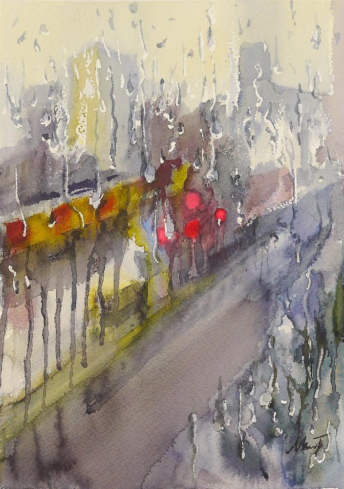 """experiment"" original fine art by Beata Musial-Tomaszewska"