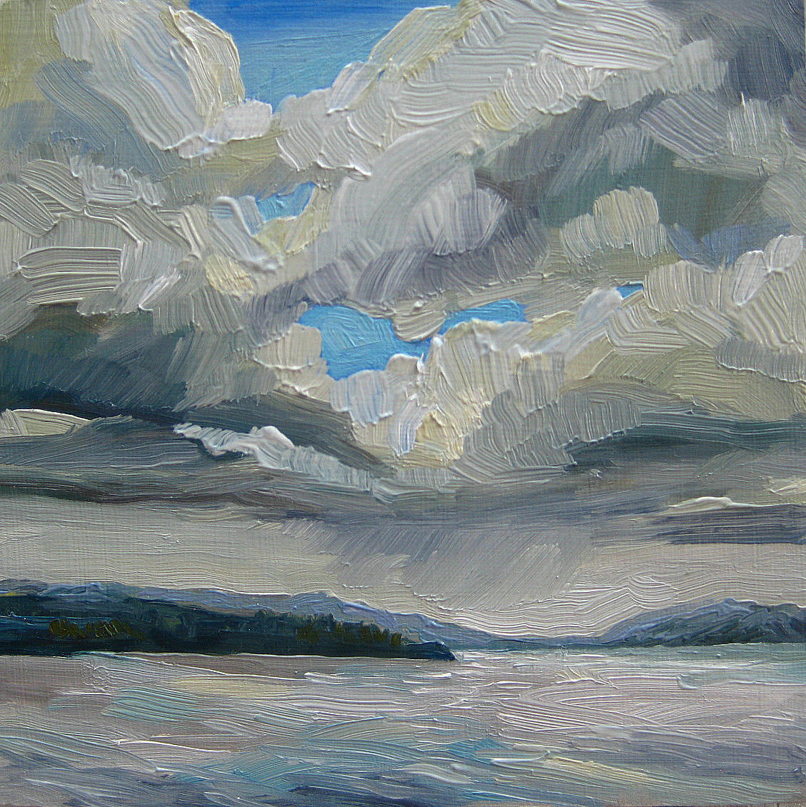"""Far From Prospect Point"" original fine art by Nicki Ault"