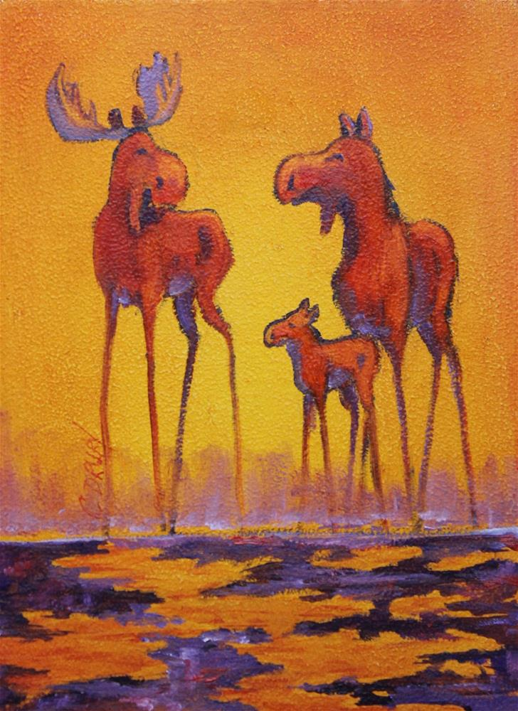 """We Belong Together"" original fine art by Colleen Drury"