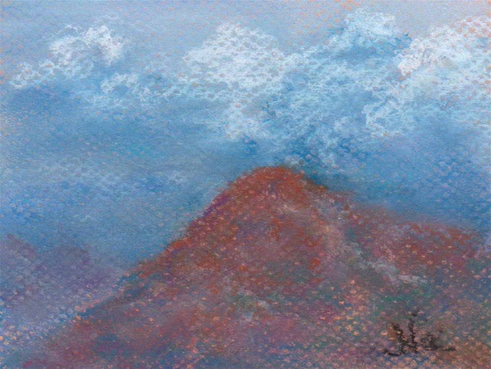 """Afternoon Clouds"" original fine art by Niki Hilsabeck"