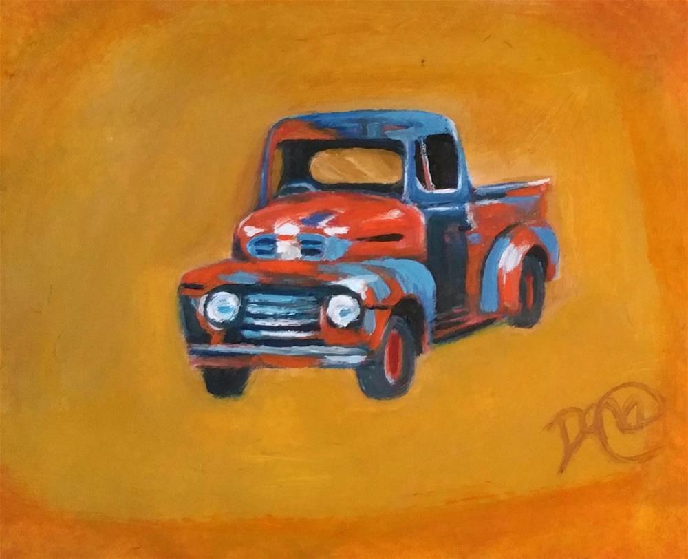 """Rusty"" original fine art by Dana C"