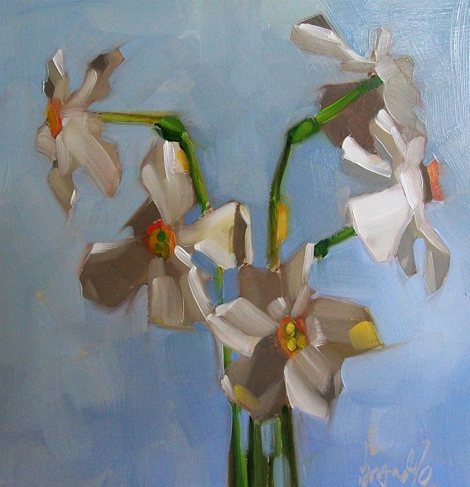 """Wild White"" original fine art by Brandi Bowman"