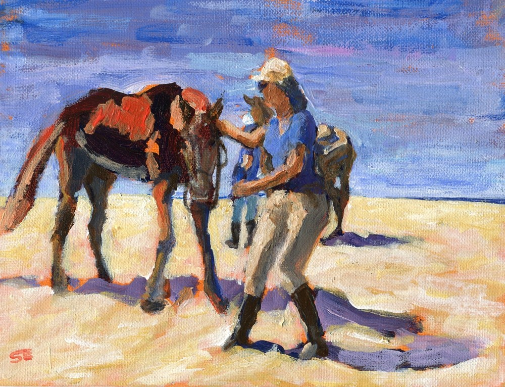 """Sand Riders"" original fine art by Stanley Epperson"