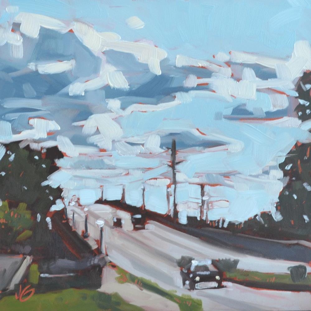 """56th Street"" original fine art by Jessica Green"