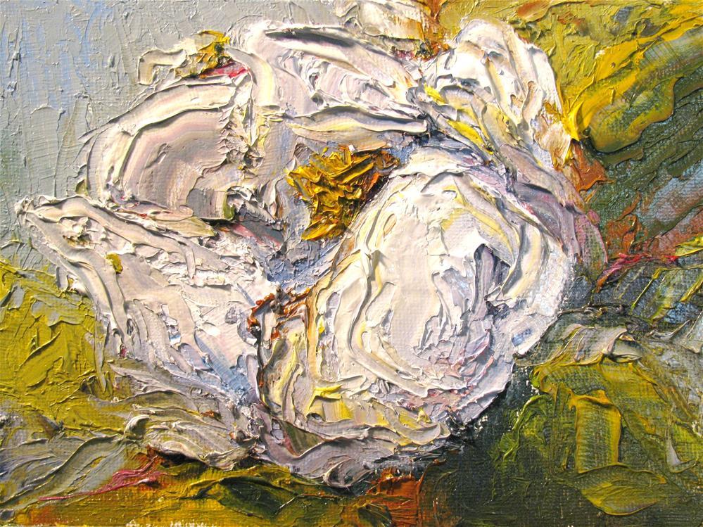 """Magnolia Blossom"" original fine art by Susan Elizabeth Jones"