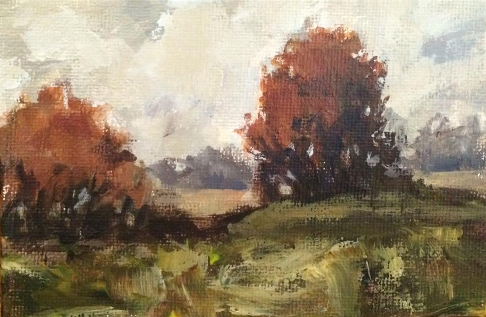 """Autumn Rust"" original fine art by Shannon Bauer"