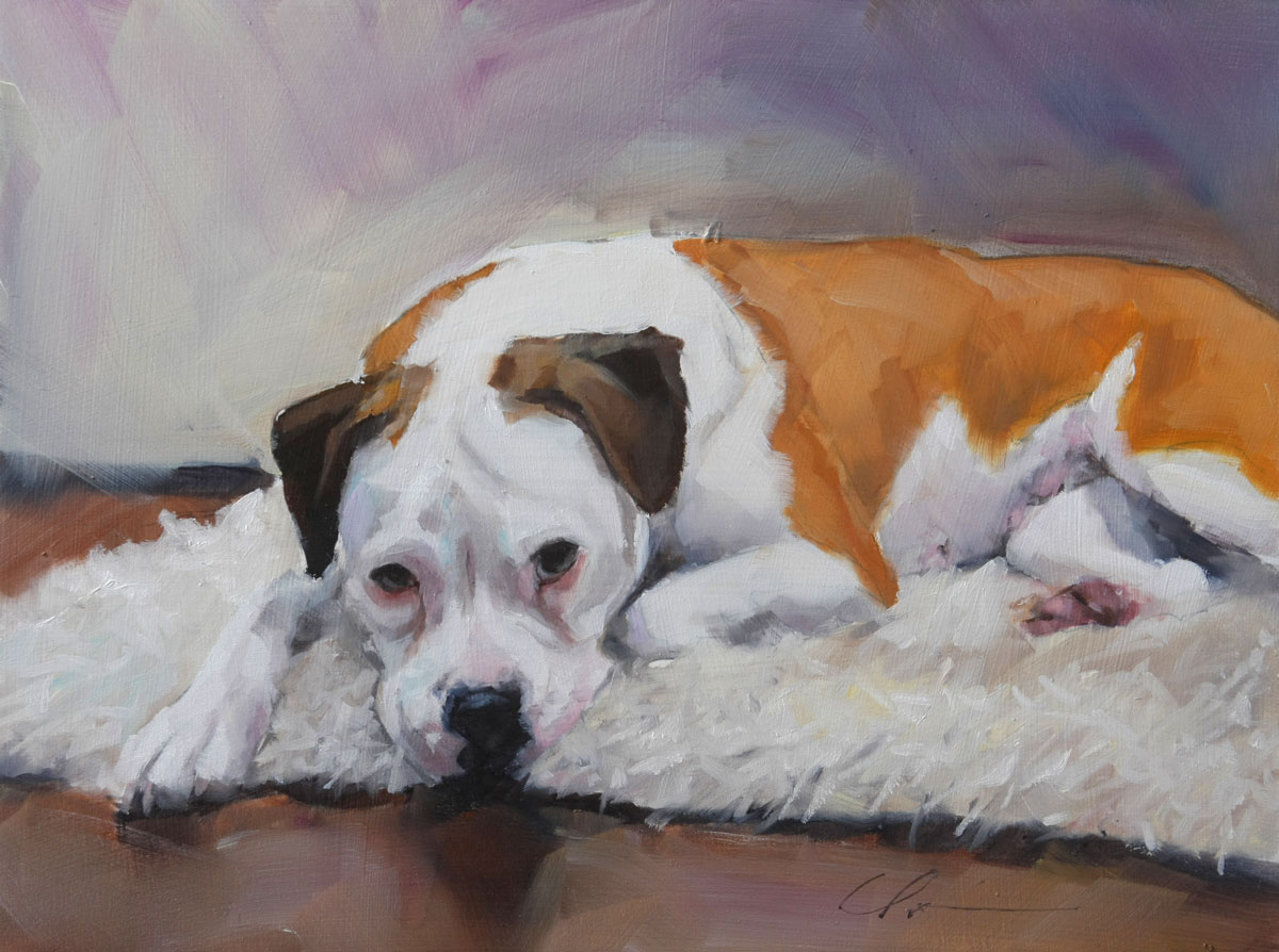 """Molly Commission"" original fine art by Clair Hartmann"