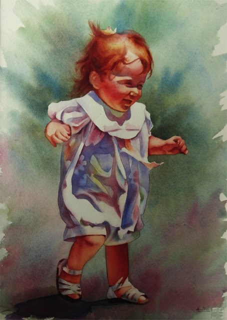 """Innocence"" original fine art by Arena Shawn"