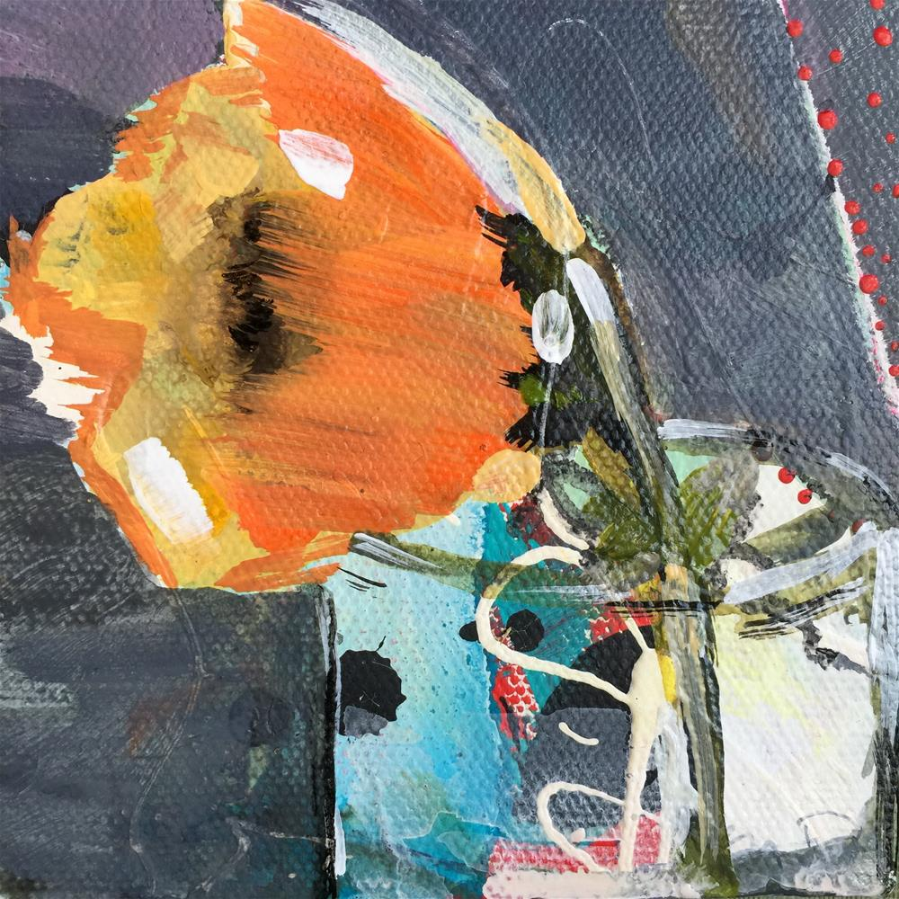 """Poppy"" original fine art by Jenny Doh"