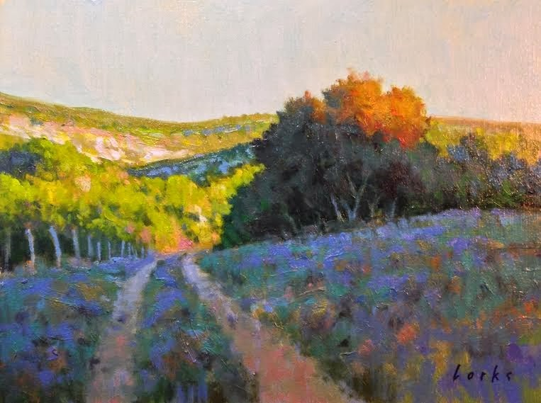 """Sun Kissed"" original fine art by David Forks"