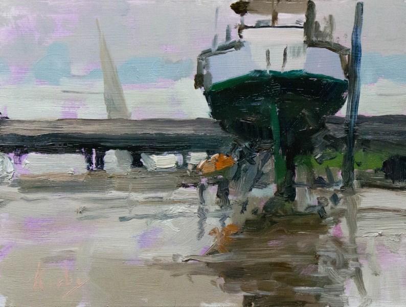 """Storm Chaser"" original fine art by Randall Cogburn"