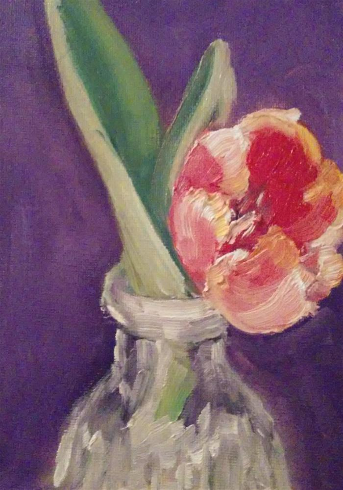 """Single Bloom"" original fine art by Gerri Obrecht"