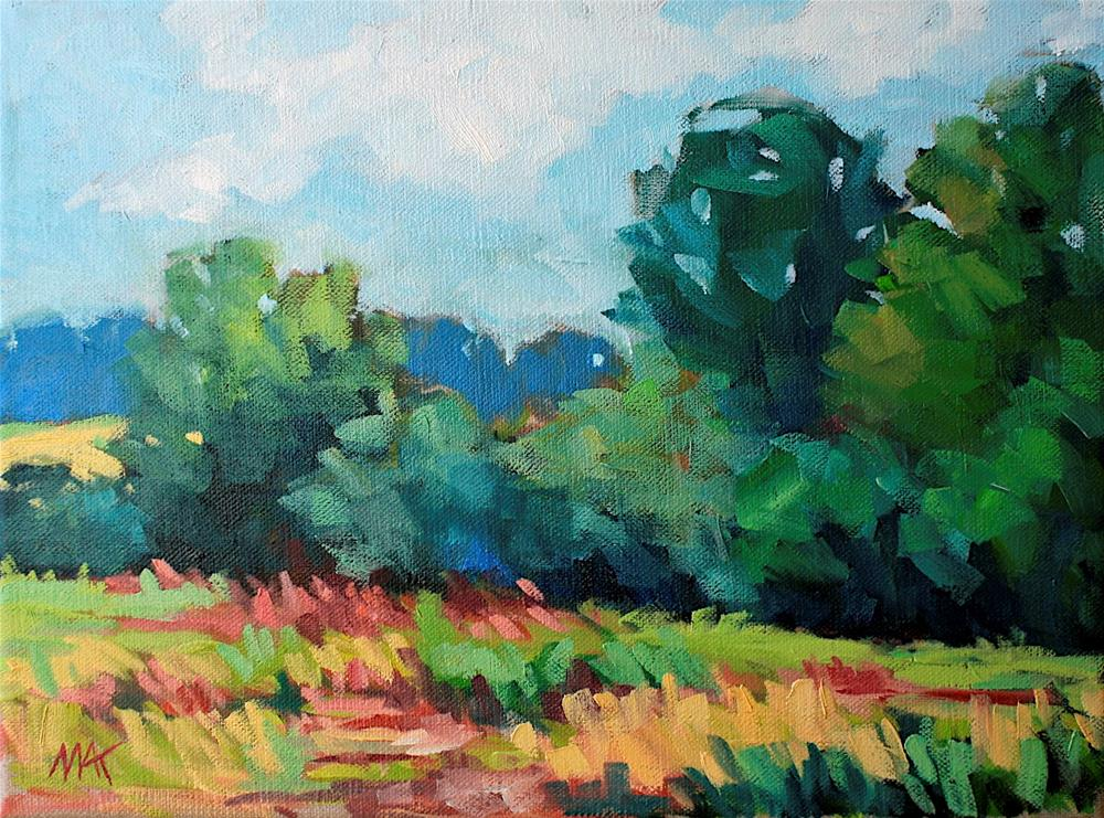 """Tranquil Afternoon"" original fine art by Mary Anne Cary"