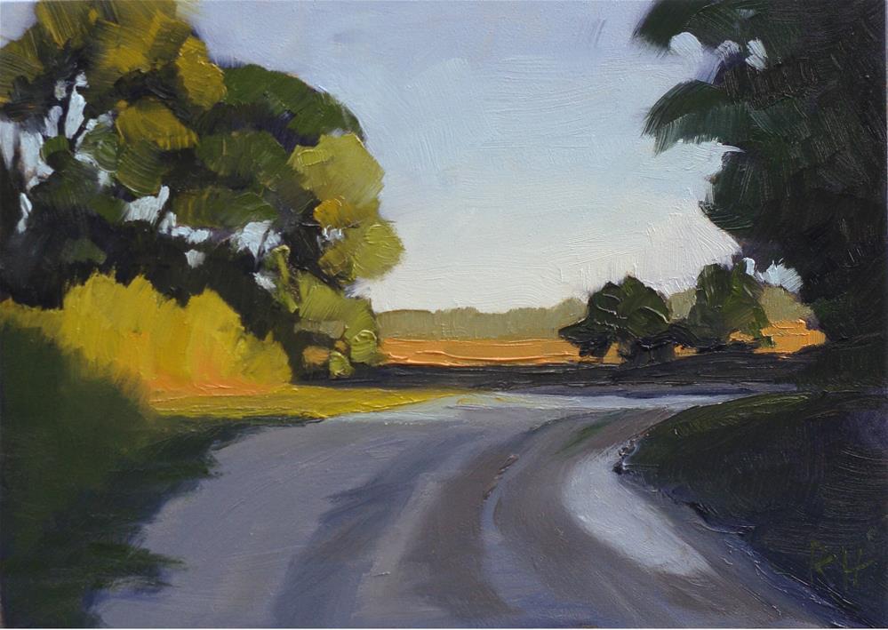 """Morning Grasses"" original fine art by Rebecca Helton"