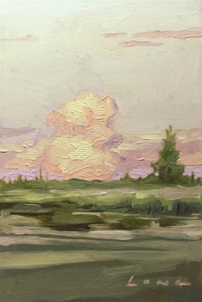 """Cloud Composition #9"" original fine art by Chris Long"