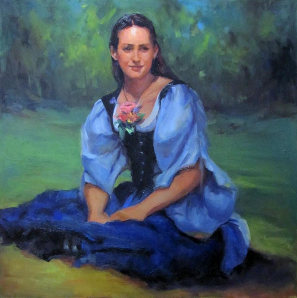"""""""A Quiet Moment"""" original fine art by Laurie Johnson Lepkowska"""