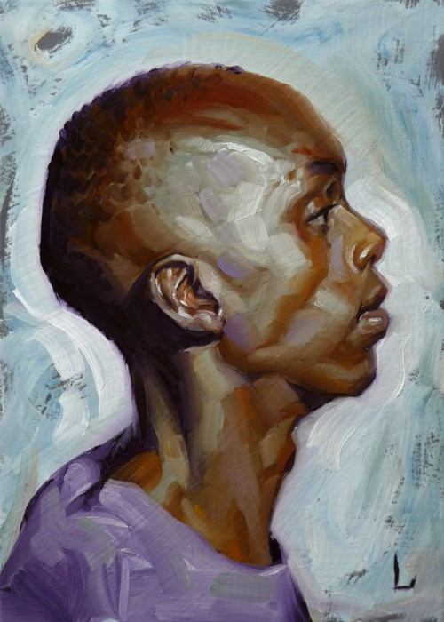 """Forecast"" original fine art by John Larriva"