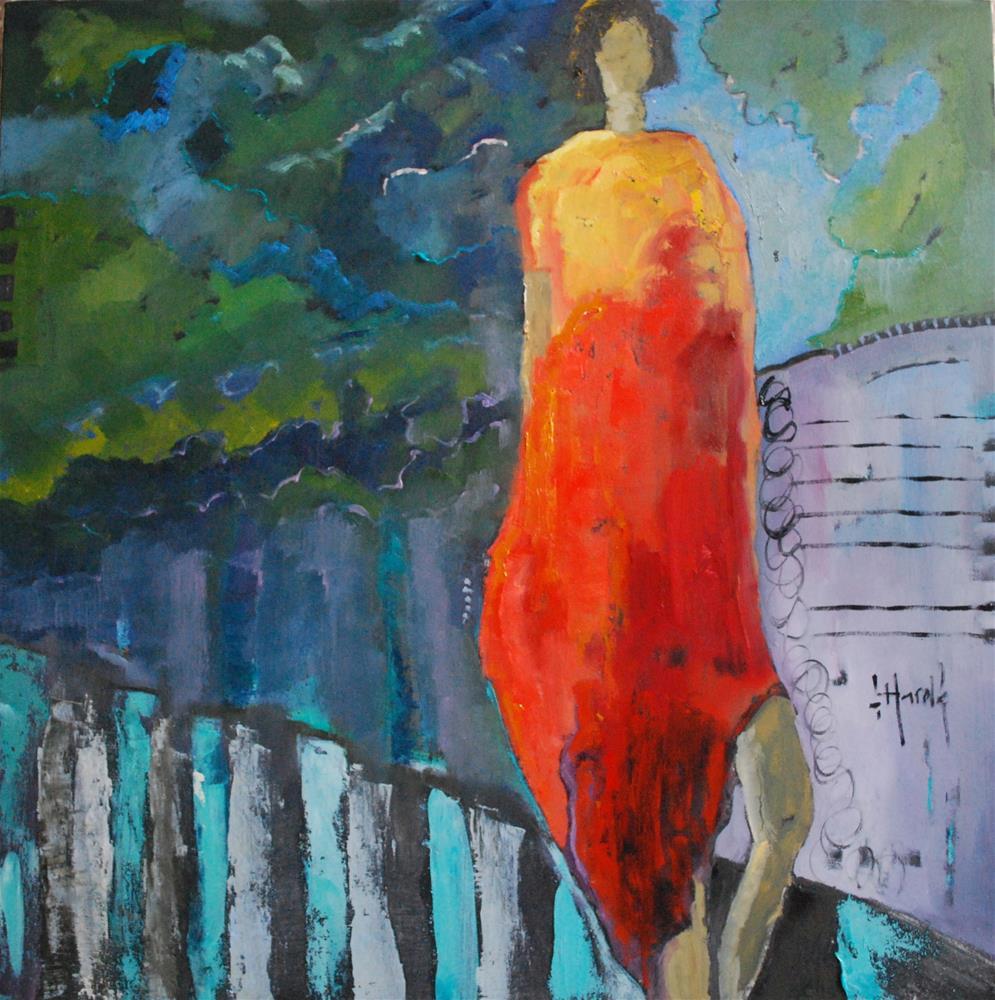 """""""Weather Vane"""" original fine art by Deborah Harold"""