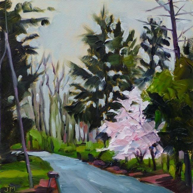 """Ketti's Hill"" original fine art by Jessica Miller"