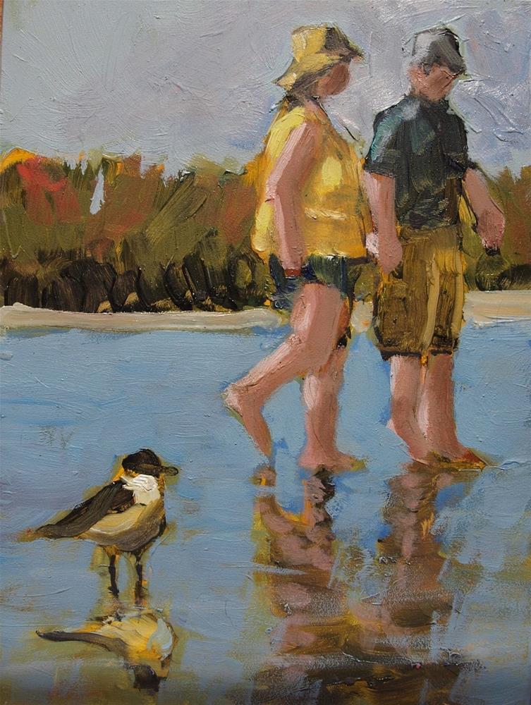 """Bunche Beach"" original fine art by Rick Nilson"