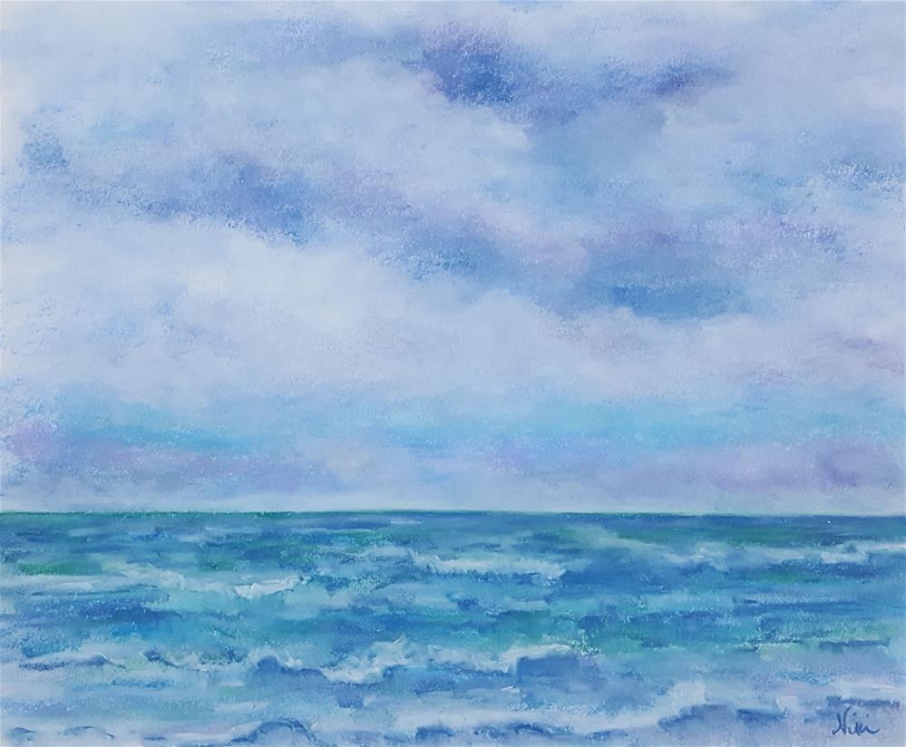 """The Open Sea"" original fine art by Niki Hilsabeck"