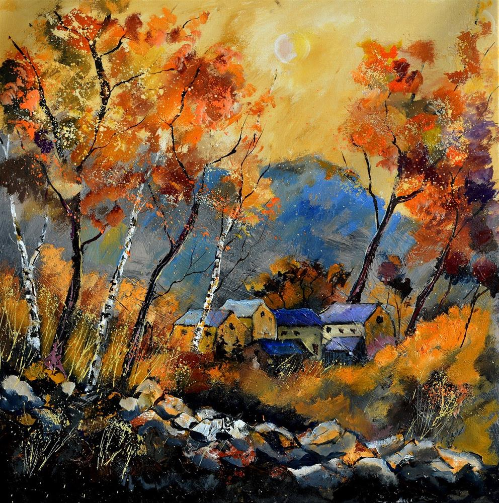 """autumn 885180"" original fine art by Pol Ledent"