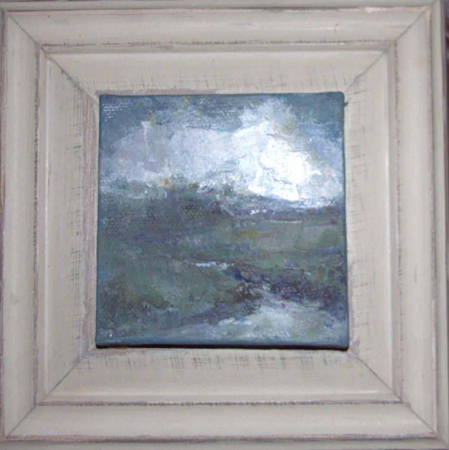 """""""A Burst of Light over Saint Simons Island"""" original fine art by Ester Deen"""