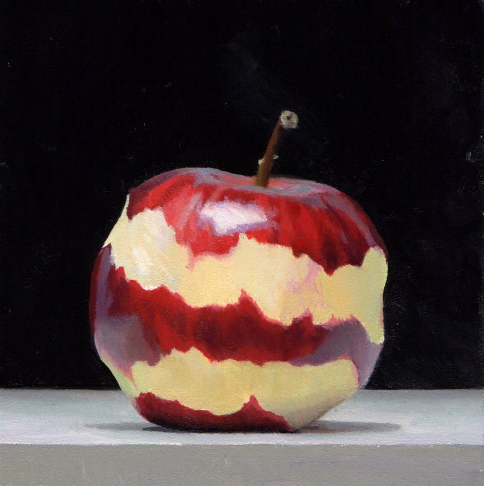 """#355 Braeburn Peel #1"" original fine art by Brian Burt"