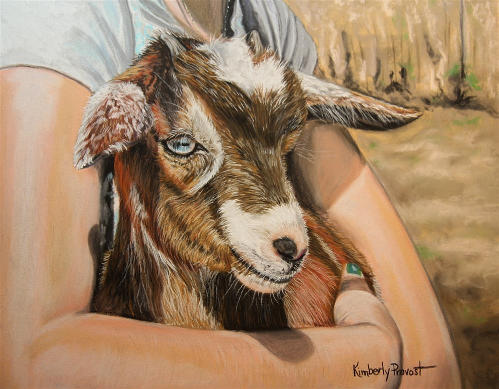"""Two Kids"" original fine art by Kimberly Provost"