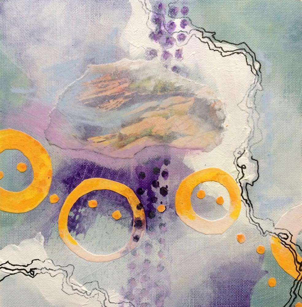 """""""One Misty Moisty Morning"""" original fine art by Dotty  Seiter"""