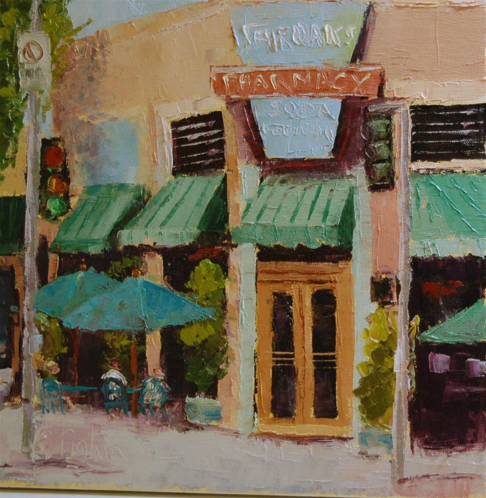 """Pharmacy"" original fine art by Carol Pighin"