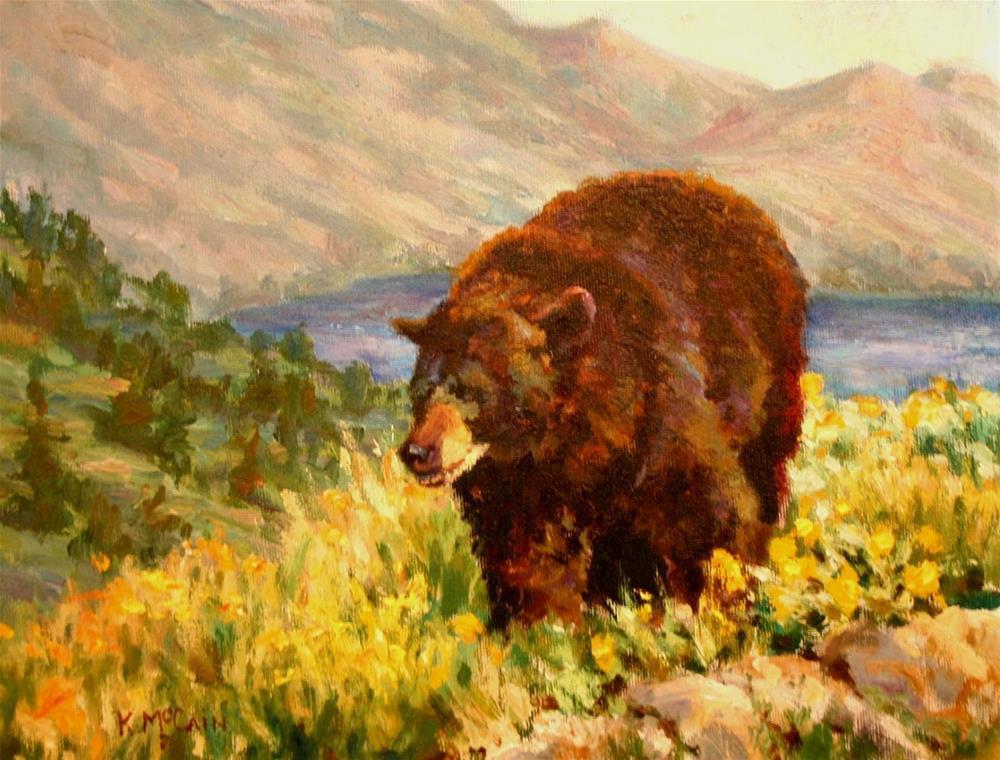 """Morning Stroll"" original fine art by K.R. McCain"