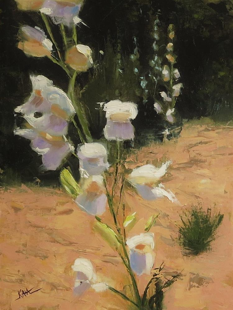 """Palmer's Penstemon"" original fine art by Kaia Thomas"