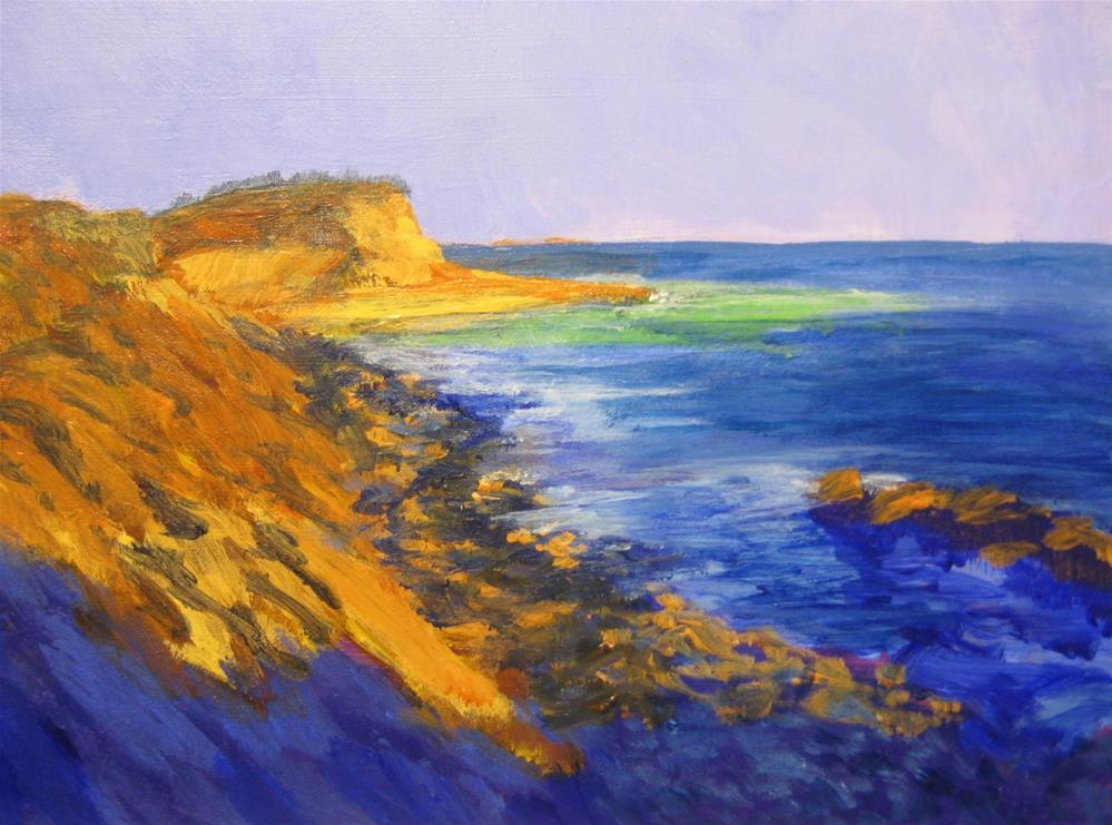 """MONTAUK SUNSET"" original fine art by Joseph Perez"