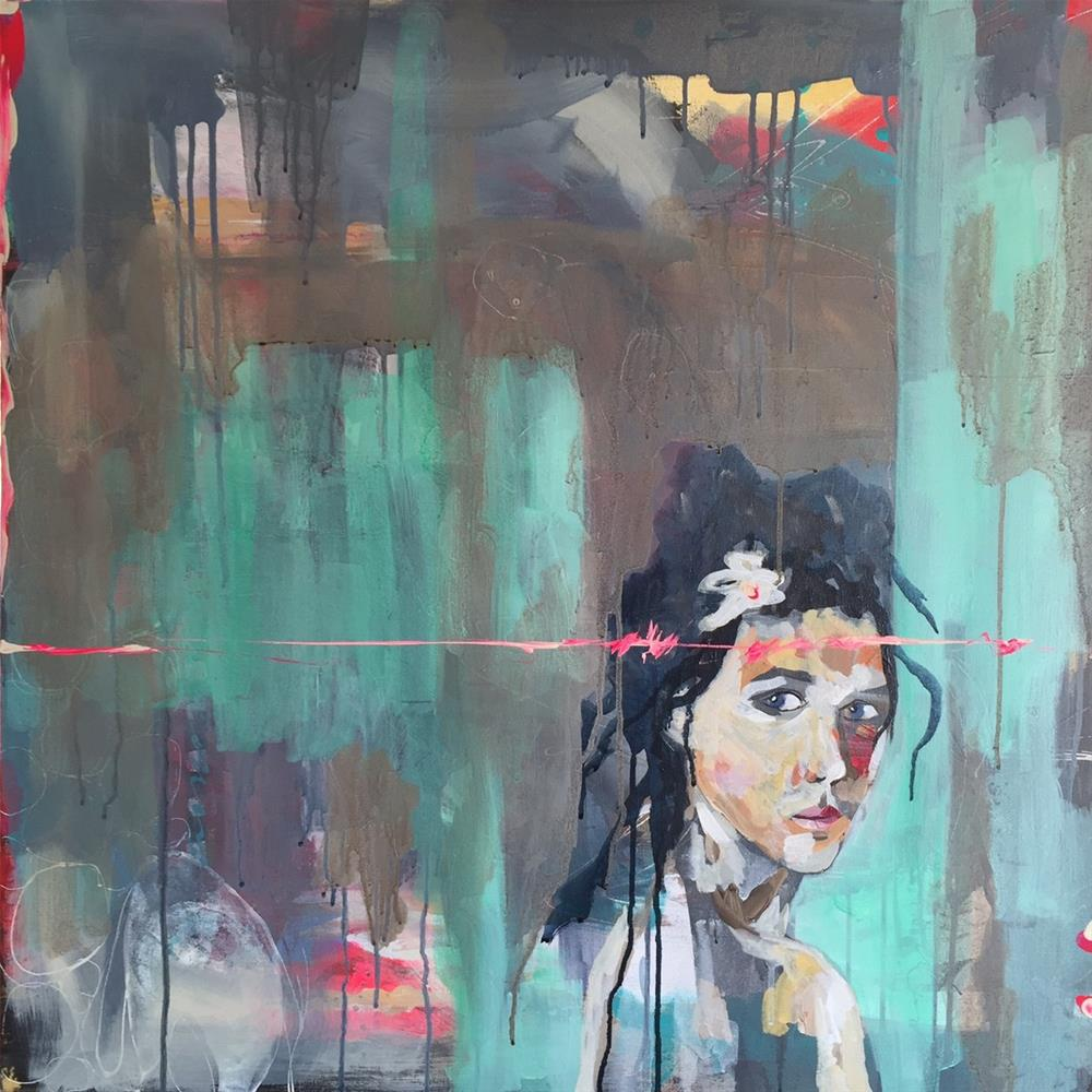 """""""96 To the Least of These"""" original fine art by Jenny Doh"""