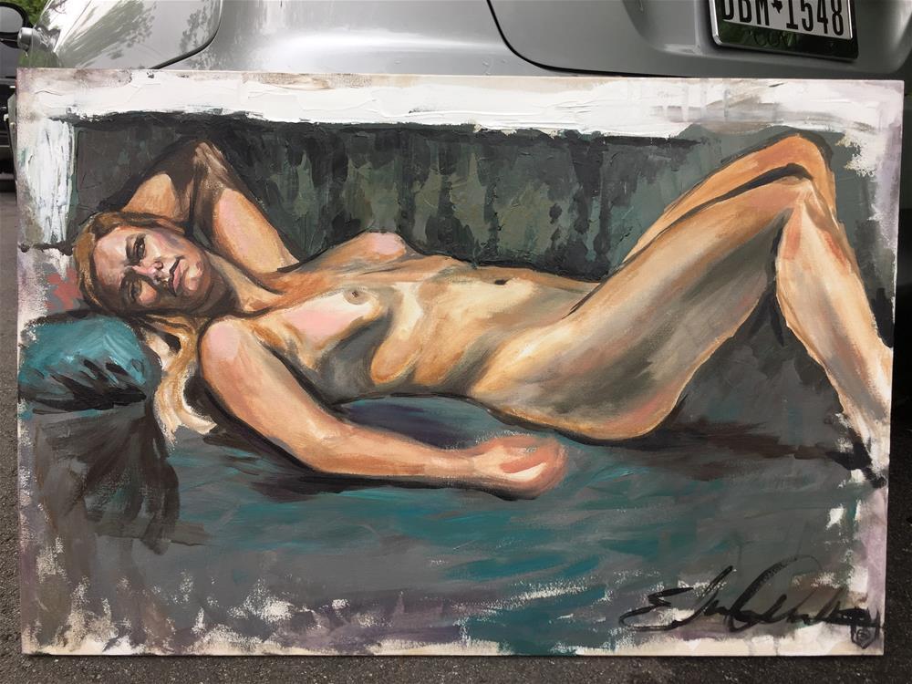 """""""Hannah"""" original fine art by Eduardo Posadas"""