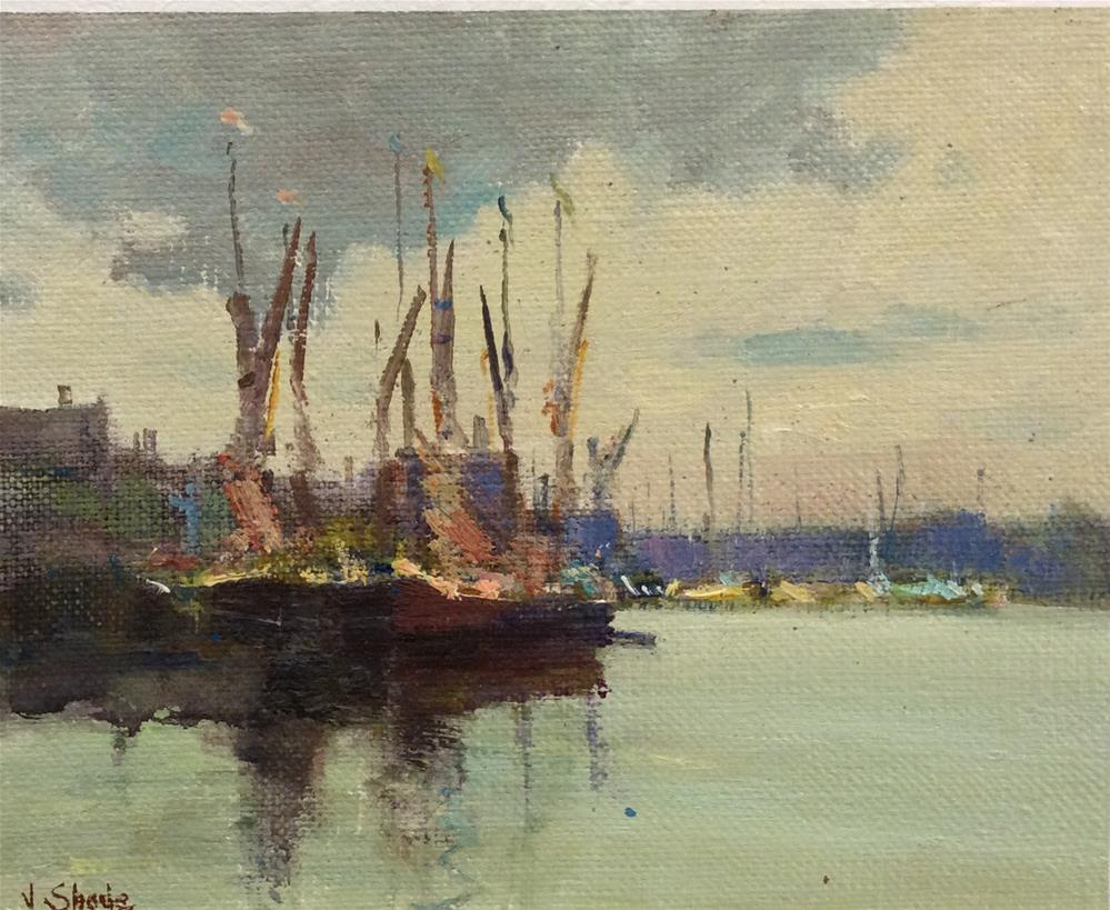 """Maldon"" original fine art by John Shave"