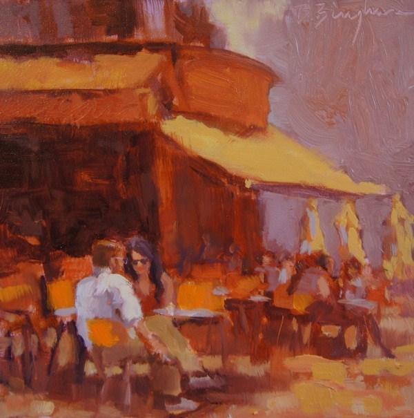 """Le Marais"" original fine art by Bruce Bingham"