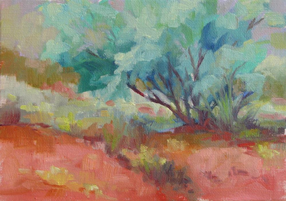 """Chavez Tree"" original fine art by Marsha Savage"