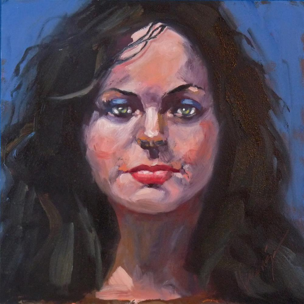 """You Heard Me!"" original fine art by Sharman Owings"