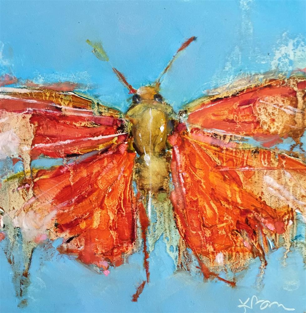 """Hopper"" original fine art by Kathleen Broaderick"