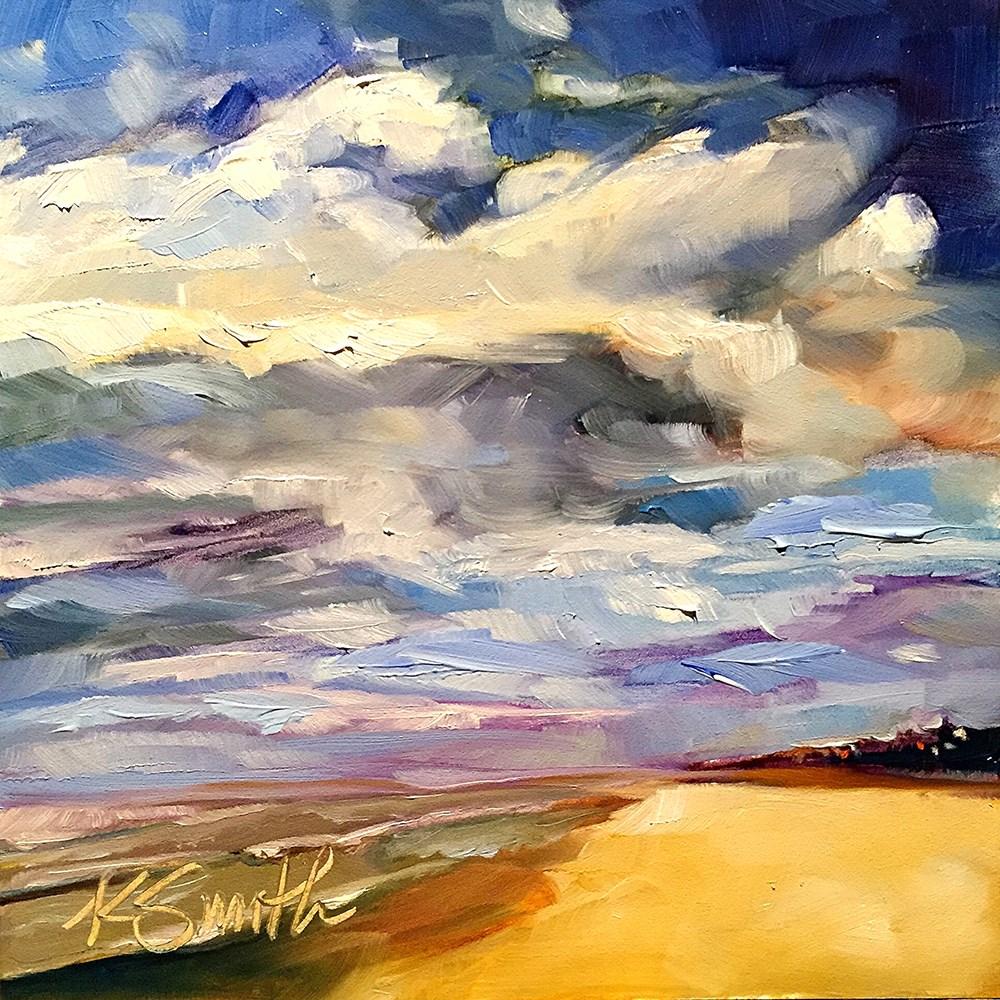 """""""beach dreamin'"""" original fine art by Kim Smith"""