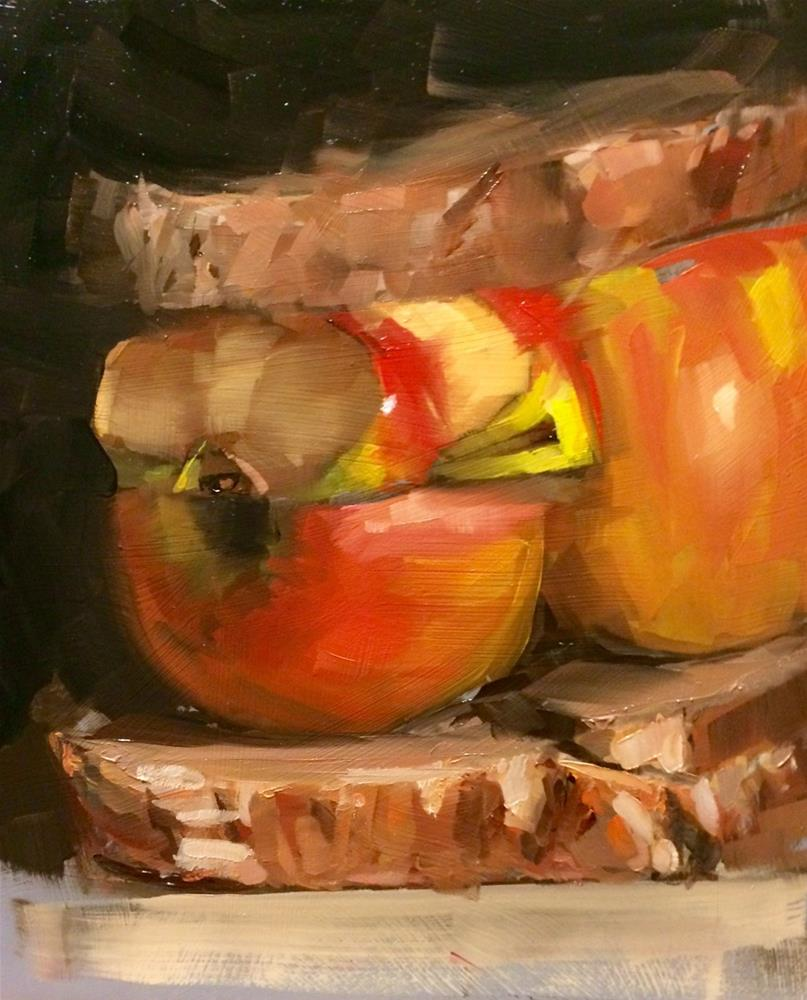 """A&B series: 7. Sandwich"" original fine art by Thomas Ruckstuhl"