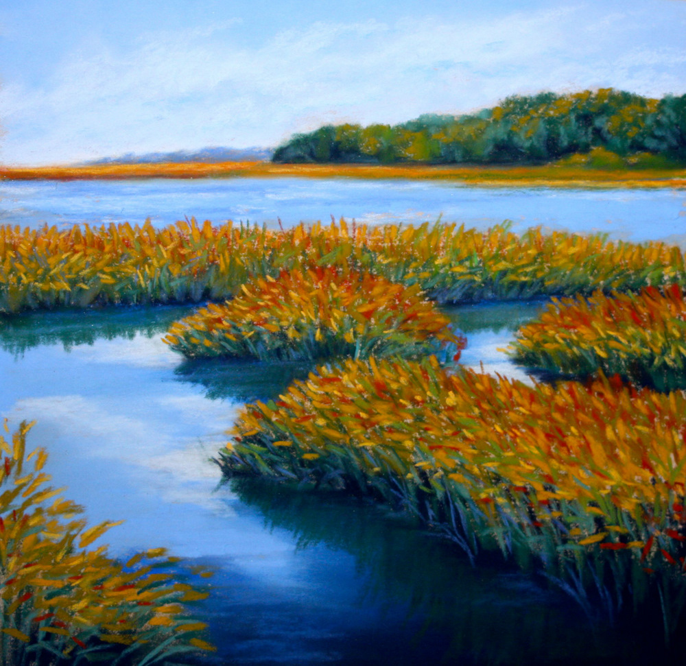 """Intracoastal Near St. Augustine"" original fine art by Jill Bates"