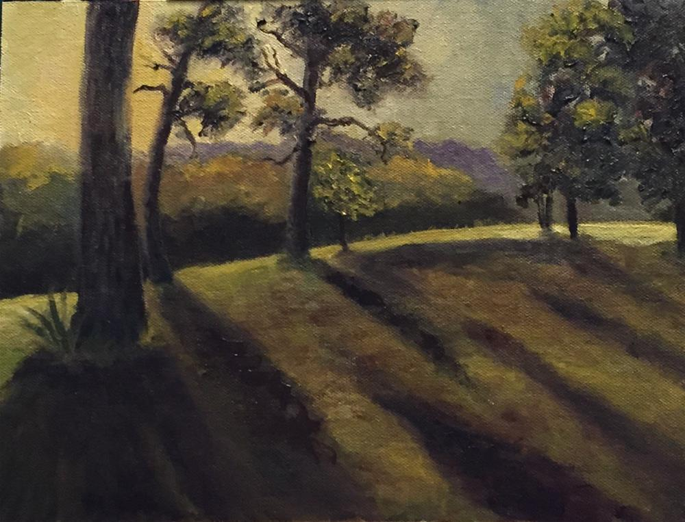"""Arkansas Dawn"" original fine art by Cheryl J Smith"