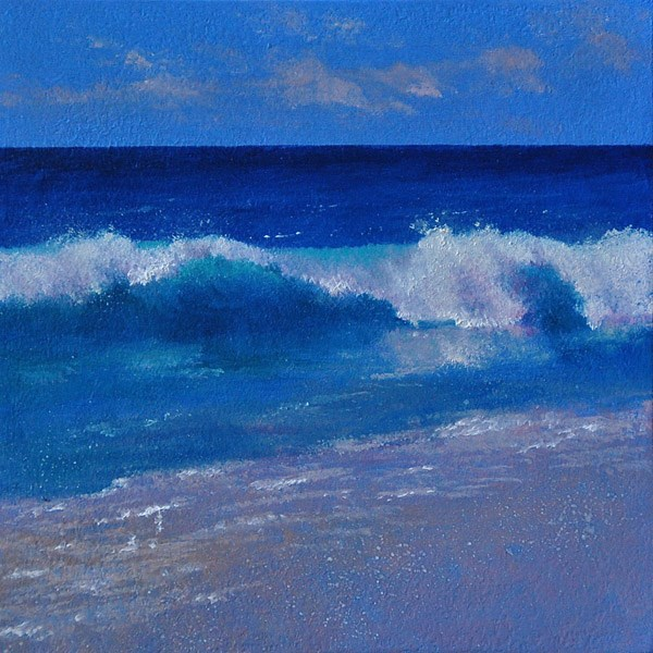 """HIGHTIDE"" original fine art by Gerald Schwartz"