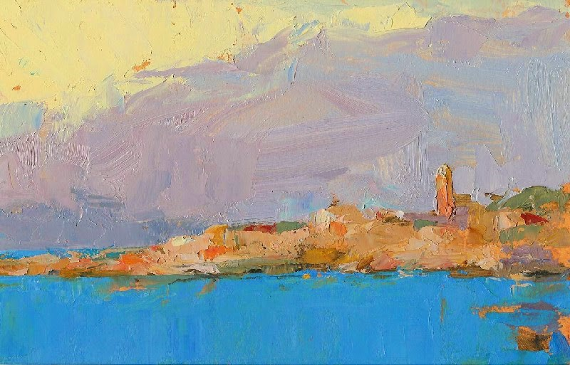 """St. Tropez - NFS"" original fine art by Kathryn Townsend"