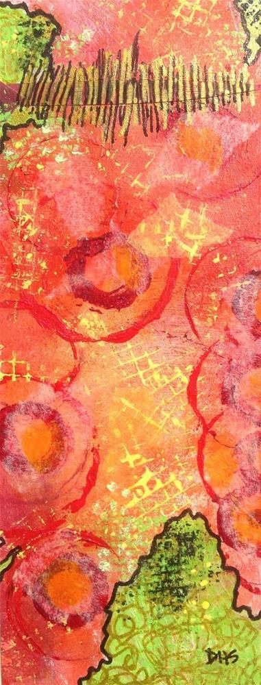 """""""Paper Prayer 36"""" original fine art by Dotty Seiter"""